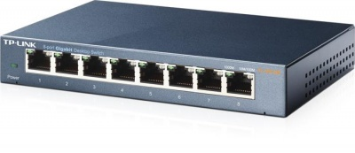 "Switch, 8 port, 10/100/1000Mbps, TP-LINK ""TL-SG108"""